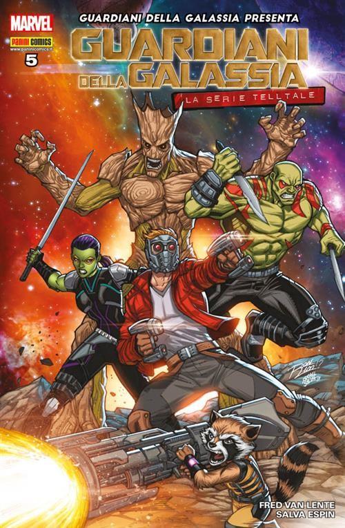 Guardiani della galassia presenta 5 la serie telltale