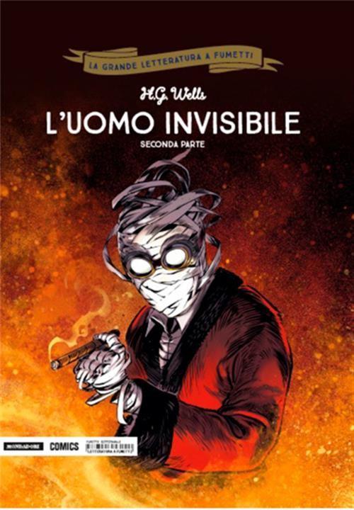La grande letteratura a fumetti l uomo invisibile parte