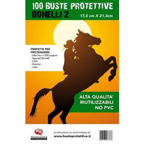 100 BUSTE PROTETTIVE BONELLI 2 (17,5 X 21,3)