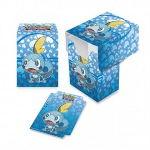 15358 - FULL VIEW DECK BOX - POKEMON -  SPADA E SCUDO: GALAR STARTER SOBBLE