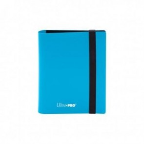15366 - ALBUM 2 TASCHE - PRO BINDER ECLIPSE - SKY BLUE