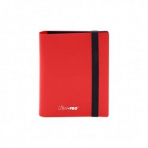 15367 - ALBUM 2 TASCHE - PRO BINDER ECLIPSE - APPLE RED