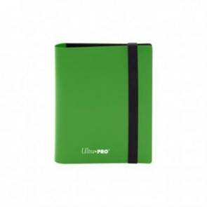 15369 - ALBUM 2 TASCHE - PRO BINDER ECLIPSE - LIME GREEN