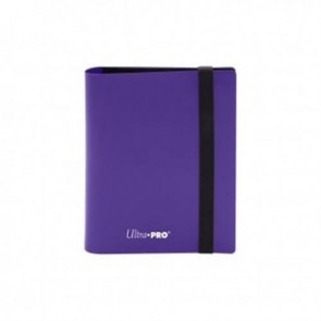 15373 - ALBUM 2 TASCHE - PRO BINDER ECLIPSE - ROYAL PURPLE