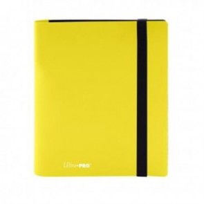 15383 - ALBUM 4 TASCHE - PRO BINDER ECLIPSE - LEMON YELLOW