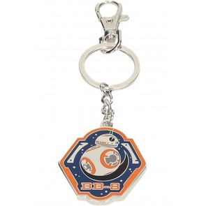24062 - STAR WARS EPISODE VII - PORTACHIAVI IN METALLO - BB-8 ORANGE EDGE