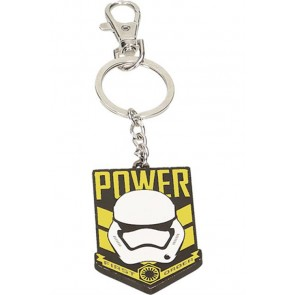 24092 - STAR WARS EPISODE VII - PORTACHIAVI IN METALLO - POWER FIRST ORDER