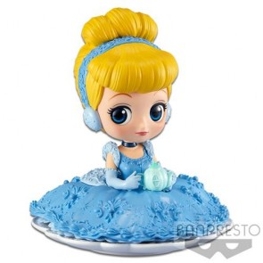 35634 - DISNEY - Q POSKET SUGIRLY - CINDERELLA (NORMAL COLOR VER.) - FIGURE 9CM
