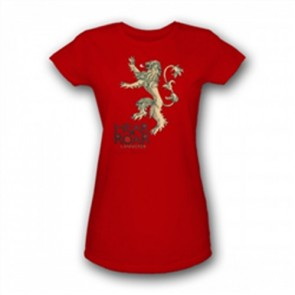 35722 - GAME OF THRONES - LANNISTER LOGO - DONNA - XL