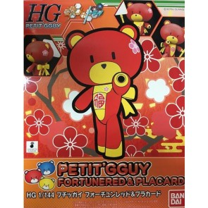 58643 - HGBF PETITGGUY FORTUNERED/PLACARD 1/144