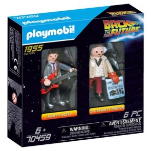 70459 - BACK TO THE FUTURE - MARTY E DOC BROWN 1955