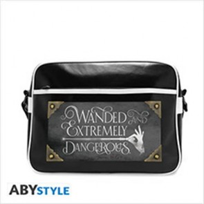 ABYBAG187 - FANTASTIC BEASTS - BORSA A TRACOLLA GRANDE - WANDED & DANGEROUS