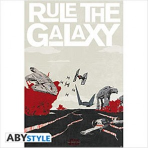ABYDCO470 - STAR WARS THE LAST JEDI - POSTER 91,5x61 RULE THE GALAXY