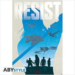 ABYDCO471 - STAR WARS THE LAST JEDI - POSTER 91,5x61 RESIST