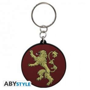 ABYKEY098 - GAME OF THRONES - KEYCHAIN PVC 'STARK'