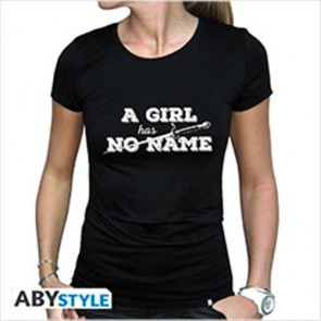 ABYTEX437XL - T-SHIRT - GAME OF THRONES - A GIRL HAS NO NAME XL