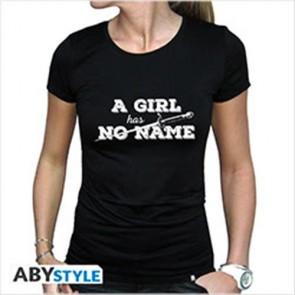 ABYTEX437XL - T-SHIRT - GAME OF THRONES - A GIRL HAS NO NAME XL