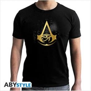 ABYTEX460 - ASSASSIN'S CREED - T-SHIRT GOLDEN CREST S
