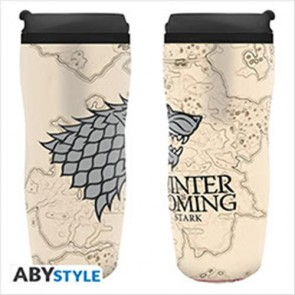 ABYTUM001 - GAME OF THRONES - TUMBLER WINTER IS COMING