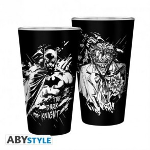 ABYVER119 - DC COMICS - BICCHIERE 500ML BATMAN & JOKER