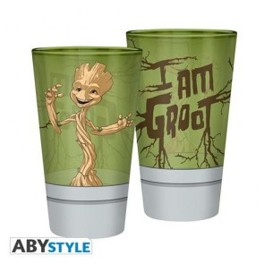 ABYVER157 - MARVEL - BICCHIERE 400ML GROOT