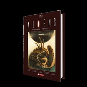 ALIENS DEFIANCE HARD COVER 2