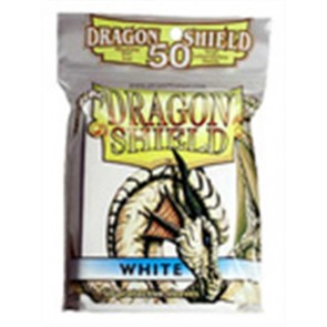 AT-10105 - 50 BUSTINE DRAGON SHIELD MINI - BIANCO