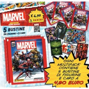 AVENGERS ANNIVERSARY STICKERS COLLECTION - MULTIPACK