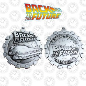 BACK TO THE FUTURE - MEDALLION LIMITED EDITION - BACK TO THE FUTURE LOGO