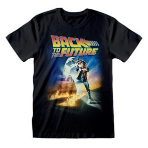 BACK TO THE FUTURE - T-SHIRT - POSTER S