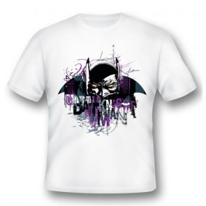 BATMAN05 - T-SHIRT BATMAN GOTHIC KNIGHT M