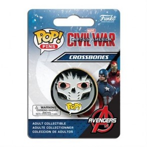 CIVIL WAR POP! PINS - CROSSBONES