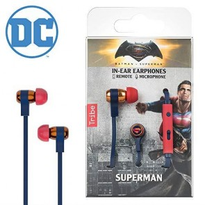 DC COMICS - AURICOLARI CON MICROFONO - DC MOVIE SUPERMAN