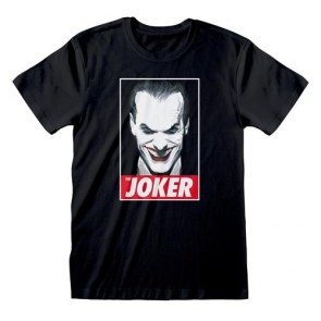 DC COMICS - T-SHIRT - THE JOKER S