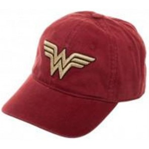 DC COMICS - WONDER WOMAN - CAPPELLINO LOGO RED