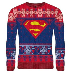 DC SUPERMAN - KNITTED JUMPER - LOGO TRUTH XL