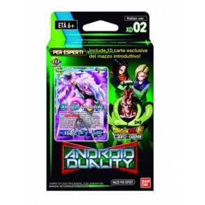 DRAGON BALL SUPER CARD GAME - EXPERT DECK 02 - ANDROID DUALITY - ITA
