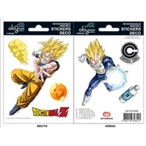 DRAGON BALL Z - MINI STICKERS - GOKU E VEGETA