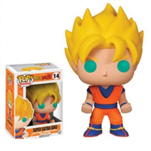 DRAGON BALL Z - POP FUNKO VINYL FIGURE 14 GOKU SUPER SAIYAN