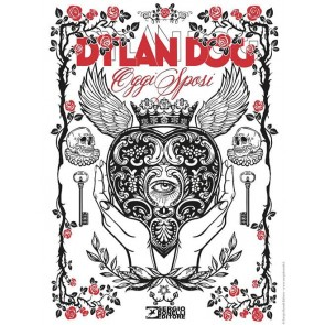 DYLAN DOG 399 FUMETTERIA - JUST MARRIED VARIANT WHITE LUCCA 2019