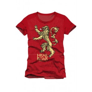 GAME OF THRONES - T-SHIRT HEAR ME ROAR L