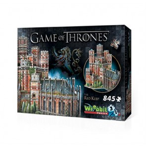 GAME OF THRONES - WREBBIT 3D PUZZLES - THE RED KEEP