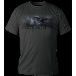GAME OF THRONES T-SHIRT MAGLIETTA WINTER IS COMING LOGO DONNA L