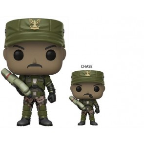 HALO - POP FUNKO VINYL FIGURE 08 SGT JOHNSON 9CM - LONDON TOY FAIR REVEALS 2018