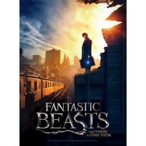 HARRY POTTER - FANTASTIC BEASTS - WREBBIT POSTER PUZZLES - NY CITY