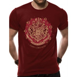 HARRY POTTER - T-SHIRT - HAPPY CHRISTMAS - S