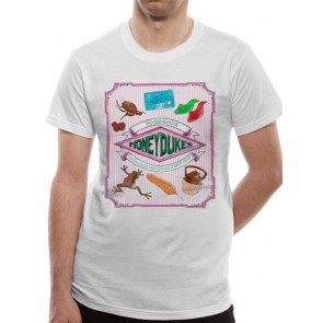 HARRY POTTER - T-SHIRT - HONEYDUKES - XL