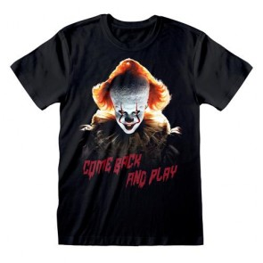 IT CHAPTER 2 - T-SHIRT - COME BACK AND PLAY L