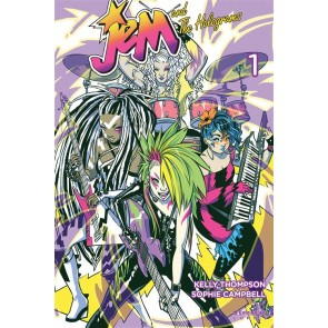 JEM AND THE HOLOGRAMS 1 VARIANT MISFITS EDITION