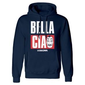 LA CASA DI CARTA - PULLOVER HOODIE - BELLA CIAO XL
